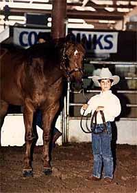 Michael Jones Team Roping Modeling Rodeo At The 2002